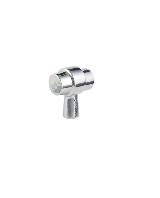 Primitive Knob Polished Aluminum