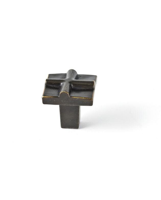 Rio Small Cross Knob Oil Rubbed Bronze