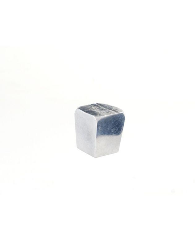 Jeff Goodman Cube Knob Polished Aluminum
