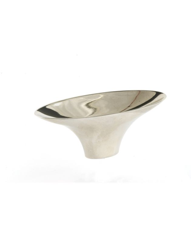 Lotus Knob Polished Nickel