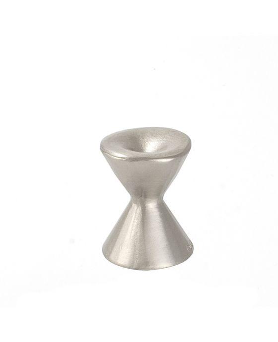 Forged 2 Med Round Knob 7/8 Inch Satin Nickel