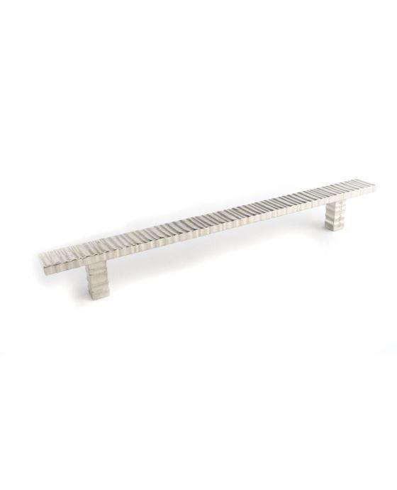 Forged 3 Flat Bar Pull 9 Inch (c-c) Satin Nickel