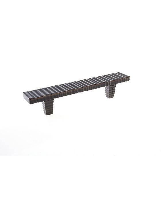 Forged 3 Flat Bar Pull 3 3/4 Inch (c-c) Satin Nickel