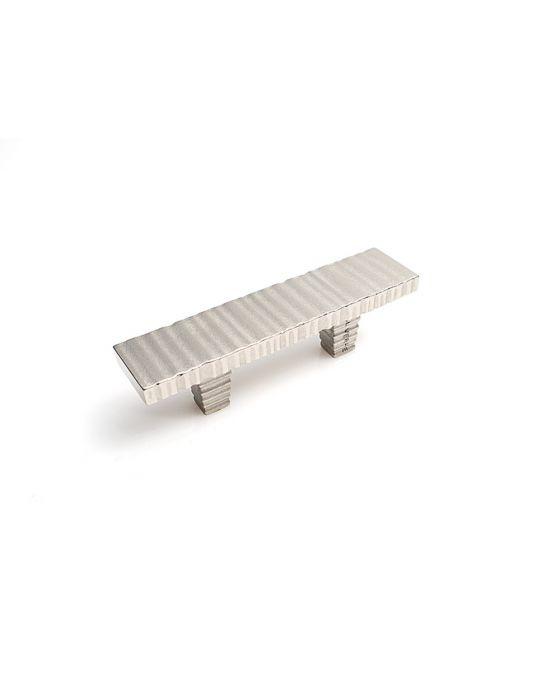 Forged 3 Flat Bar Pull 2 Inch (c-c) Satin Nickel