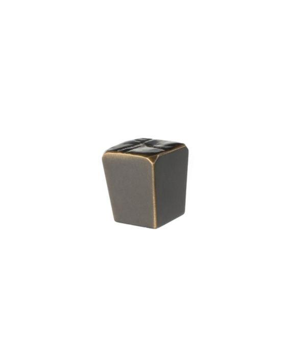 Jeff Goodman Cube Knob 1 Inch Oil Rubbed Bronze