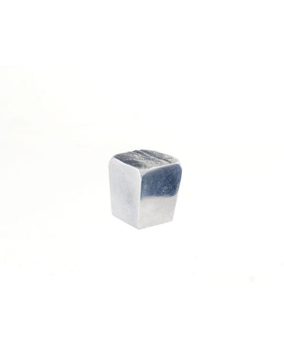 Jeff Goodman Cube Knob 1 Inch Polished Aluminum
