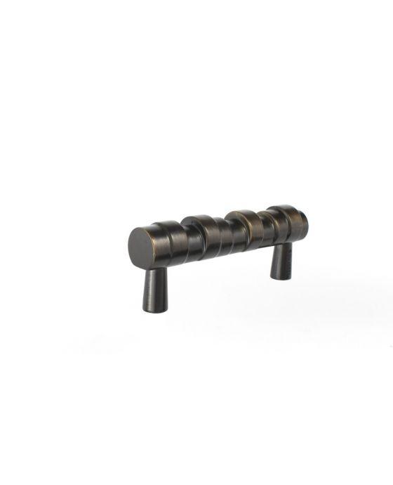 Primitive Pull 3 Inch (c-c) Oil Rubbed Bronze