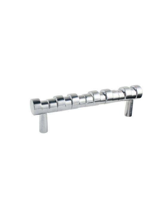 Primitive Pull 4 5/8 Inch (c-c) Polished Aluminum