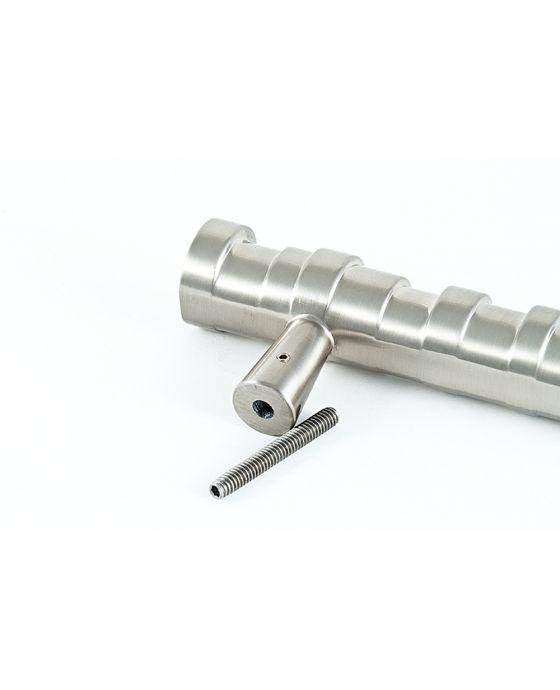 Primitive Pull, Pair 13 Inch (c-c) Polished Aluminum