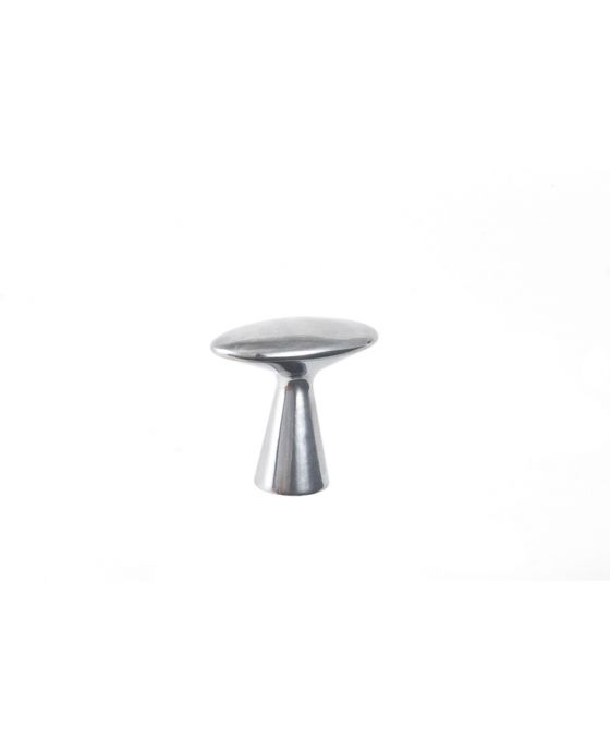 Series 3 Knob 1 5/8 Inch Polished Aluminum