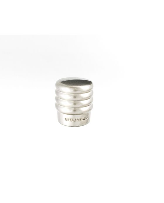 Stacked Knob 3/4 Inch Satin Nickel
