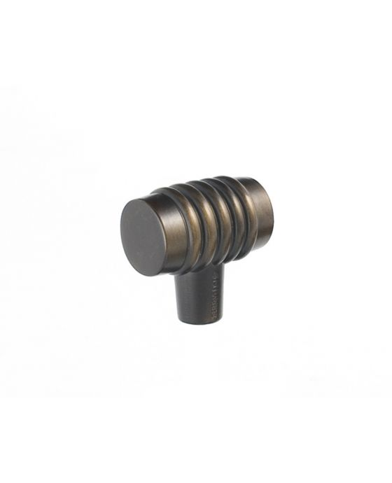 Stacked Knob 1 1/4 Inch Oil Rubbed Bronze