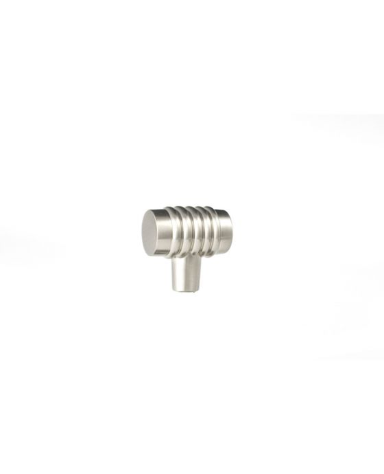 Stacked Knob 1 1/4 Inch Satin Nickel
