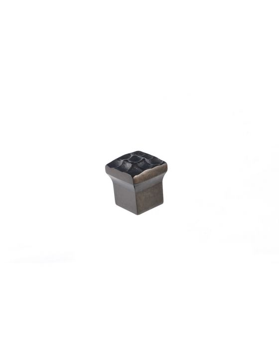 Pomegranate Square Knob 7/8 Inch Oil Rubbed Bronze
