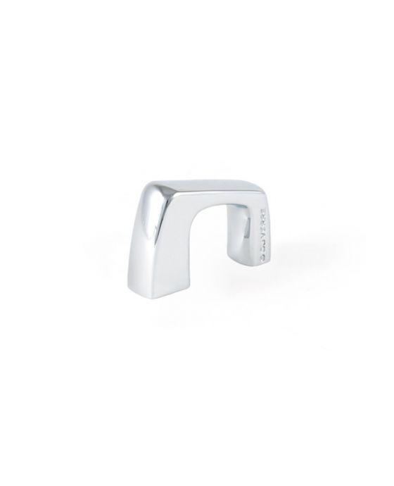 Rise Finger Pull 1 1/2 Inch (c-c) Polished Chrome