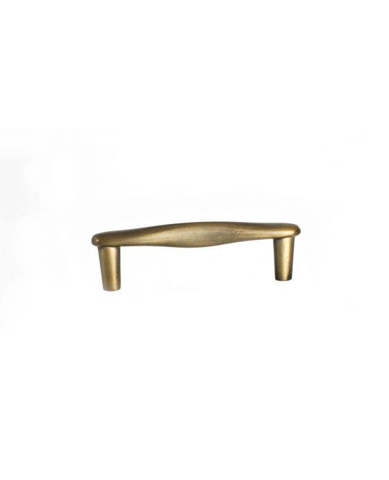 Series 3 Pull 3 3/4 Inch (c-c) Antique Brass
