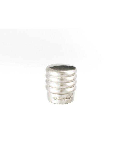 Stacked Knob 3/4 Inch Satin Nickel