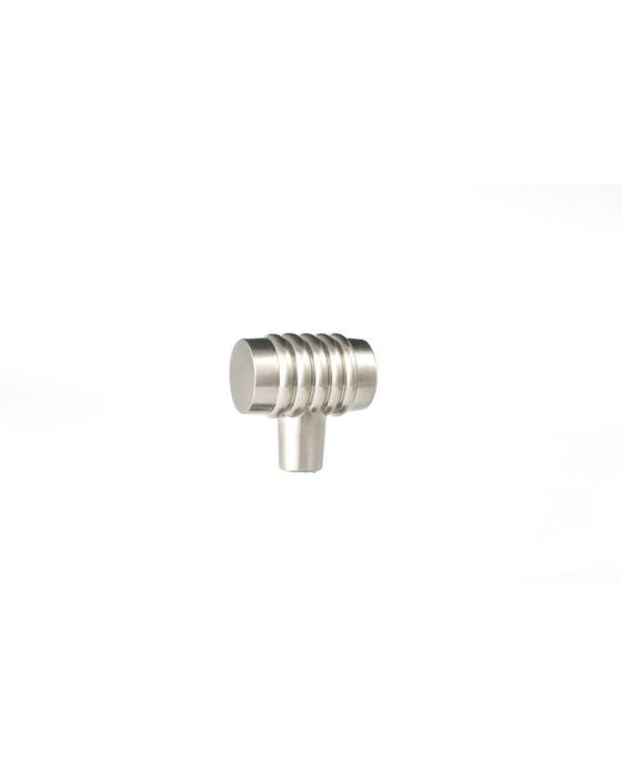 Stacked Knob 1 1/4 Inch Satin Nickel